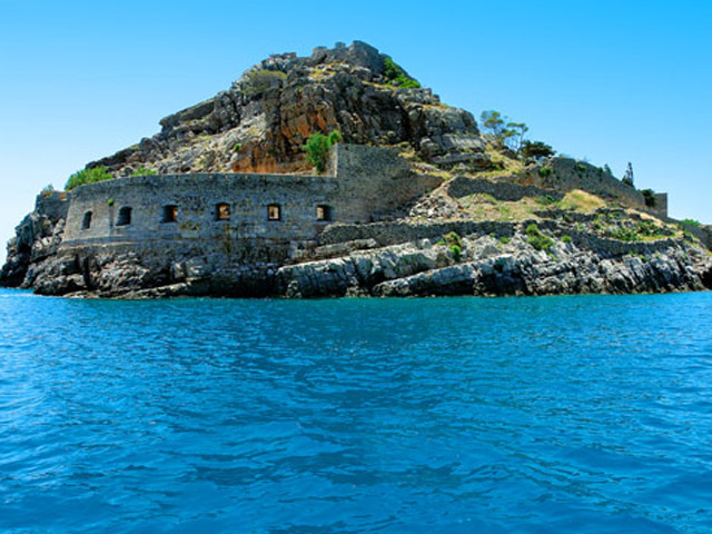 Spinalonga Island View